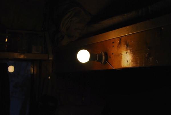 部屋の明かり