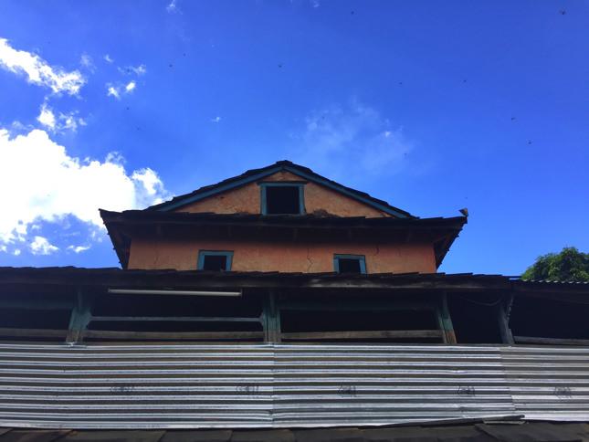 ネパールの秋