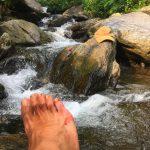 【ネパール】天然シャワー