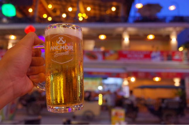 カンボジアのシェムリアップはビール天国