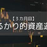 【たるかり的資産運用3カ月目】投資による資産額が100万円を超えました。