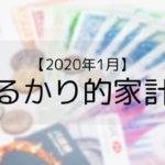 【たるかり的家計簿】月3万円生活達成!2020年は順調な滑り出しです。