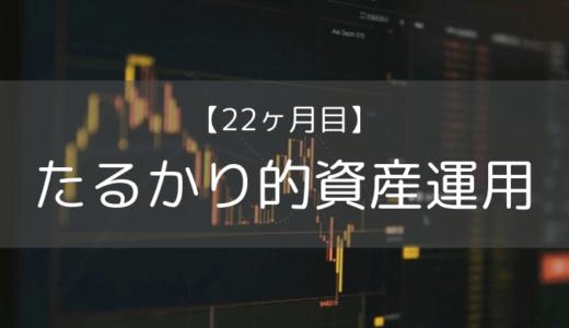 【たるかり的資産運用22カ月目】今後はリスクヘッジをしていきます。